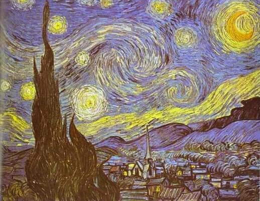 Cine a pictat noapte înstelată