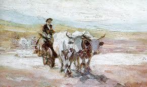 Grigorescu - Car cu boi