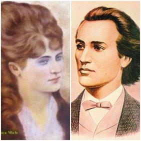 Veronica Micle si Mihai Eminescu