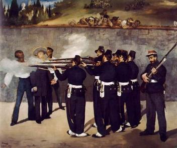 Edouard Manet - Executia lui Maximilian