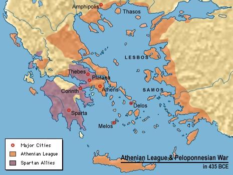 Războiul Peloponeziac Istorii Regăsite