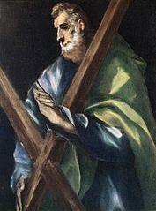 Sfantul Andrei - pictura de El Greco
