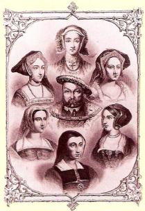 Henric VIII si cele 6 sotii ale sale