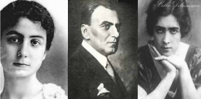 Nae Ionescu, Maruca Cantacuzino, Cella Delavrancea