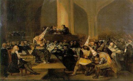 Procesul Inchizitiei - Francisco Goya