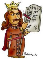 Stefan cel Mare - caricatura