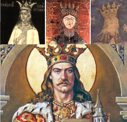 Stefan cel Mare si cele trei sotii - Evdochia, Maria de Mangop si Maria Voichita
