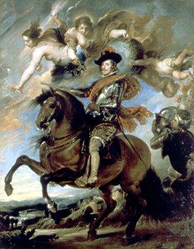 Diego Velázquez - Portret alegoric al Regelui Filip al IV-lea al Spaniei