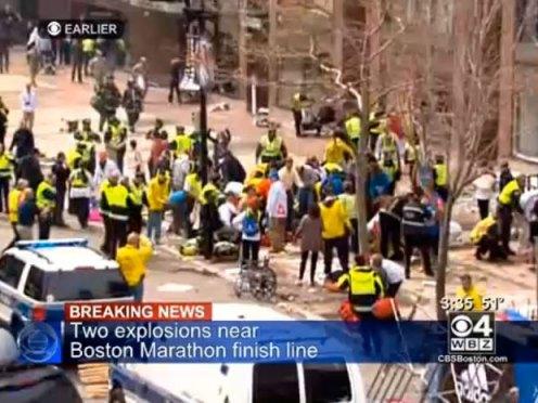 explozii la maratonul de la Boston