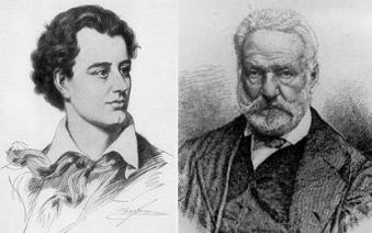 George Gordon Byron  si Victor Hugo