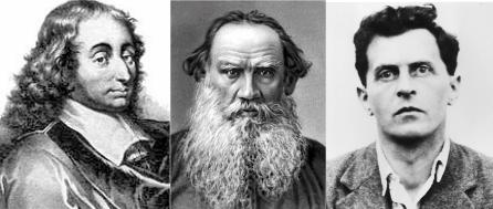 Pascal, Tolstoi si Wittgenstein