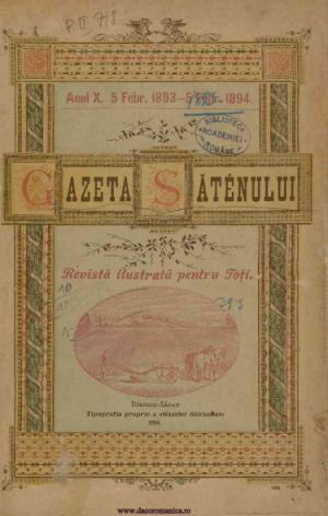 Gazeta Sateanului - C. C. Datculescu
