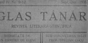 revista Glas Tanar - Stelian Cucu, Rm. Sarat