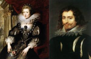 Ana de Austria si ducele de Buckingham
