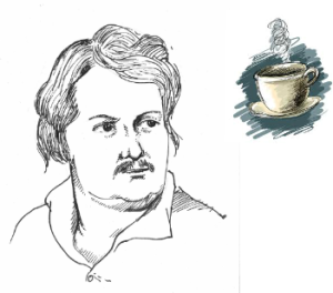 Balzac si excitantele - cafea