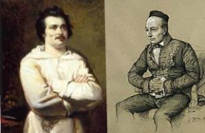 Honore de Balzac si Sainte-Beuve