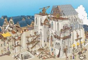constructia unei catedrale