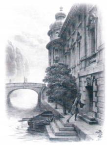 contele de Konigsmarck se furiseaza in castelul din Hanovra
