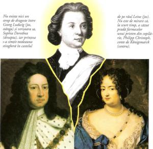 Georg Ludwig, Sophia Dorothea si Philipp Christoph, conte de Konigsmarck