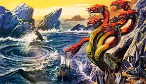 Scila si Caribda - monstri din mitologie