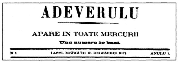 gazeta Adevarul