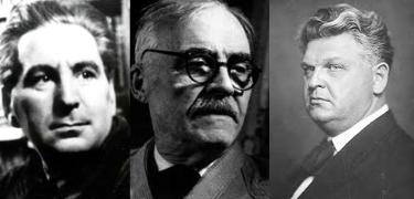 George Calinescu, Tudor Arghezi, Mihai Sadoveanu