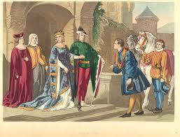 imbracaminte din Europa medievala