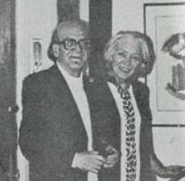 Mircea Eliade si sotia sa Christinel