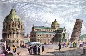 turnul din Pisa - istorie