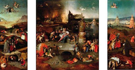 Bosch - Ispitirea Sfantului Anton