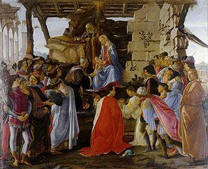 Botticelli - Adoratia magilor