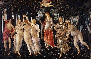 Botticelli - Primavara