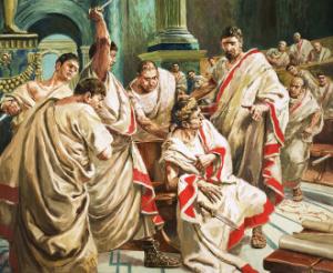 Complot impotriva lui Cezar. Moartea lui Cezar