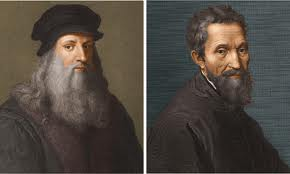Leonardo da Vinci - Michelangelo