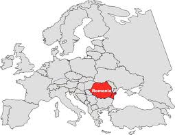 Romania Harta Europa Istorii Regăsite