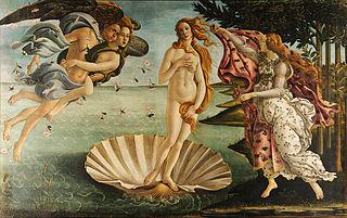 Sandro Botticelli - Nasterea lui Venus