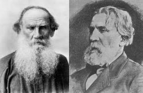 Tolstoi si Turgheniev