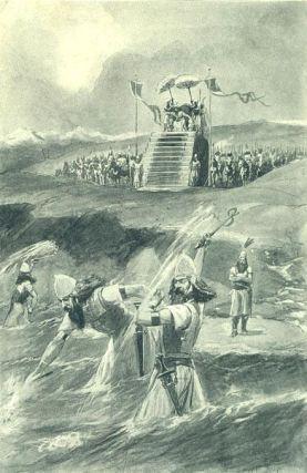 Xerxes pedepseste marea cu lovituri de bici