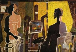Braque - Pictorul si modelul sau