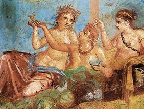 cina romana - convivium