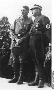 Hitler si Ernst Rohm