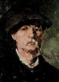 Nicolae Grigorescu autoportret
