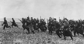 primul razboi mondial - infanteria franceza 1914