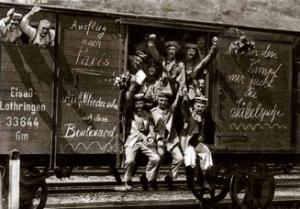 primul razboi mondial - soldati germani