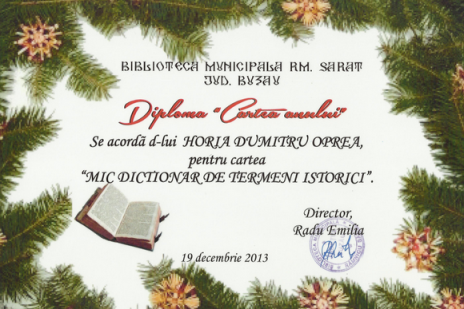 Horia Dumitru Oprea - Mic dictionar de termeni istorici