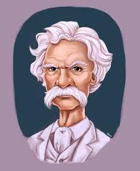 Mark Twain portret