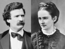 Mark Twain si sotia sa