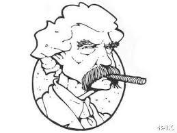 Mark Twain - trabuc