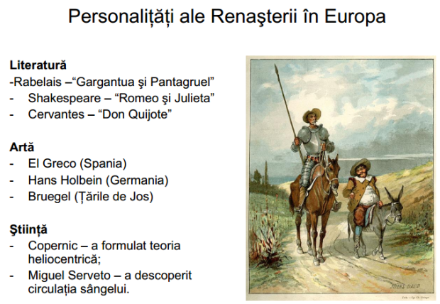 personalitati ale renasterii in europa