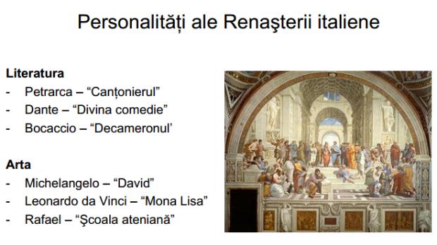 personalitati ale renasterii italiene